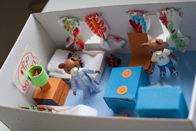 domek z pudełka 3