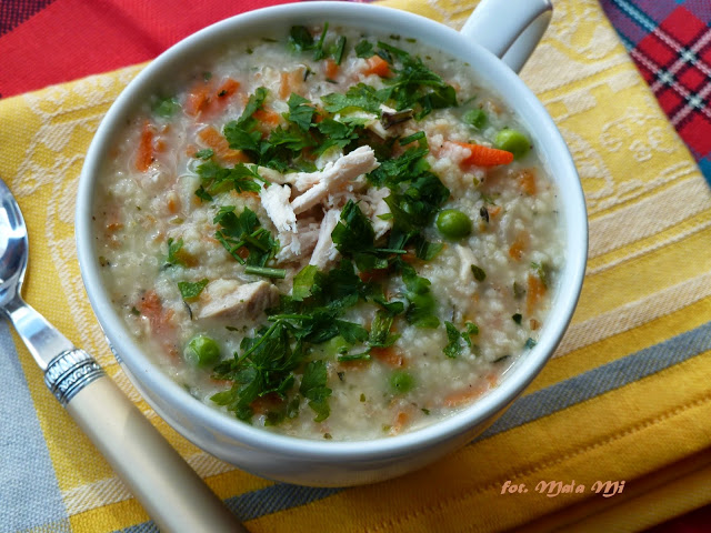Zdjęcie Potrawka z kurczaka z kuskusem i warzywami szybki obiad