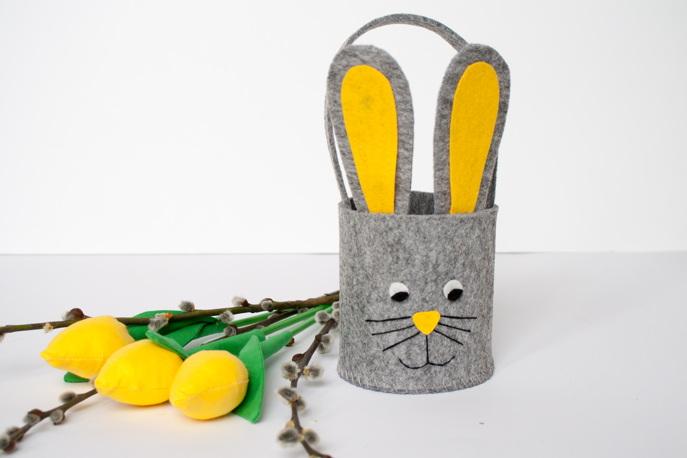 a073979cb82ae Koszyczek króliczek z pianki dekoracyjnej