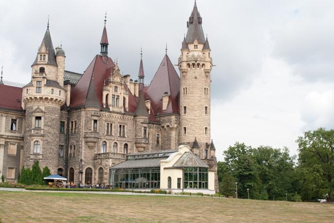 Piękne miejsca w Polsce - Zamek w Mosznej