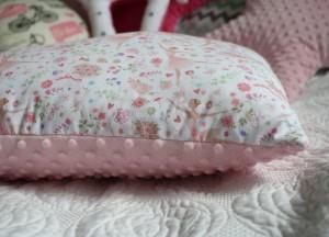 Poduszka baletnice + jasno różowe minky