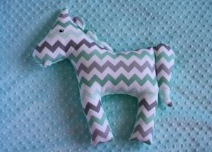 Koń XL - miętowy zygzak